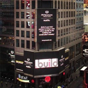 .build on times square with AGC!