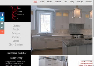 Wolfe Custom Cabinetry.Build