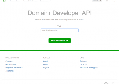 Domainr.Build