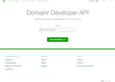 Domainr.Build